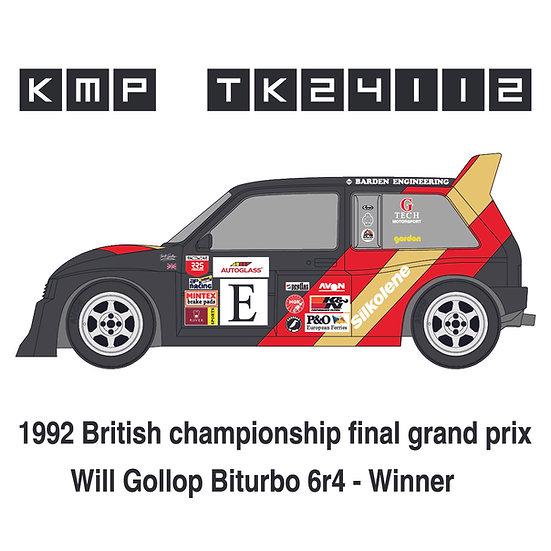 MG Metro 6R4 RX . Biturbo - Will Gollop 1992