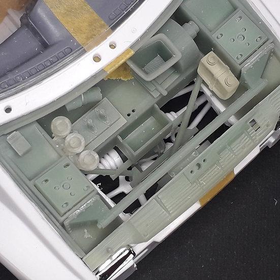 MG Metro 6R4 front trunk detail set