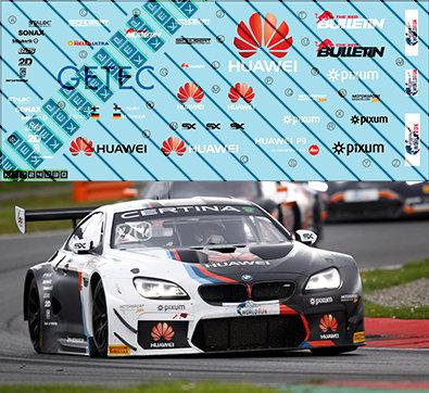 SET of 5 BMW M6 GT3 - Opening Season