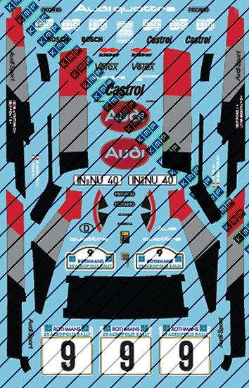 Audi Quattro Acropolis rally Mouton