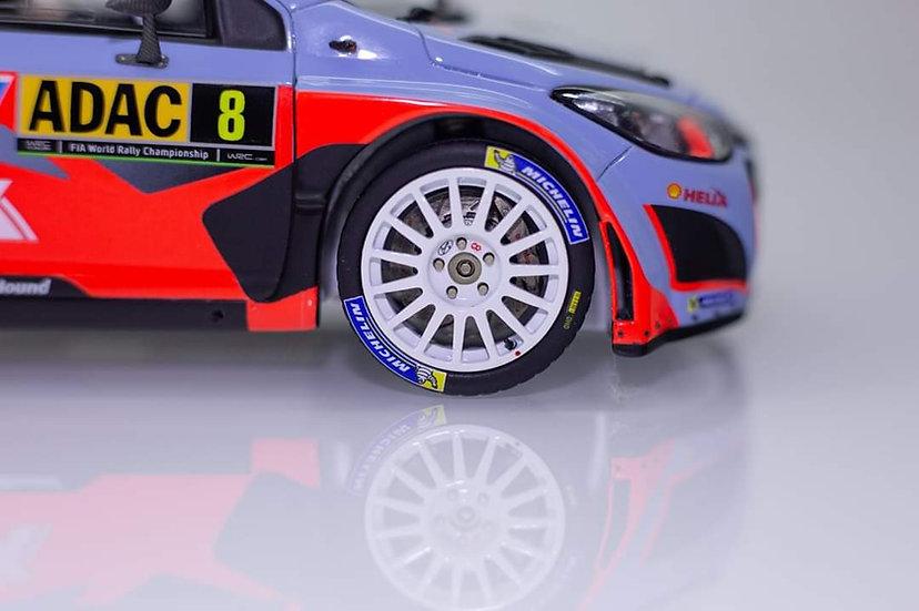 Hyundai i20 WRC rims