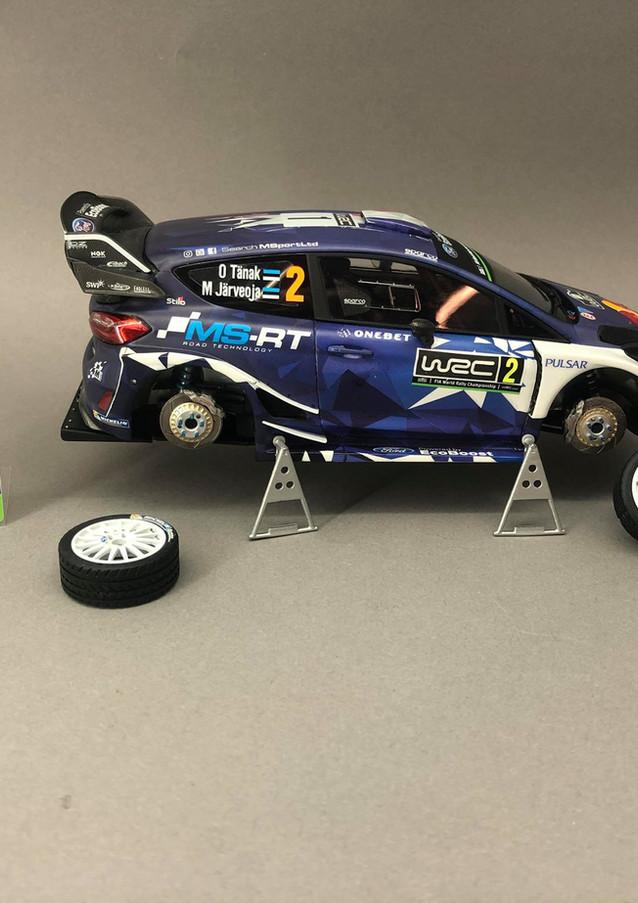 Ford Fiesta WRC +