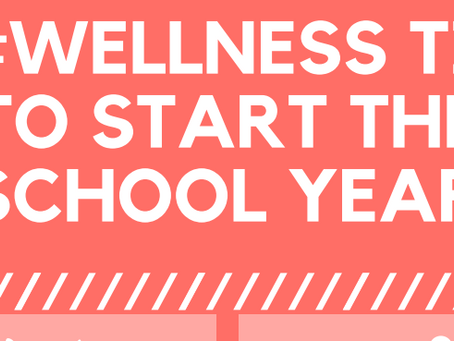 5 Wellness tips to start your year