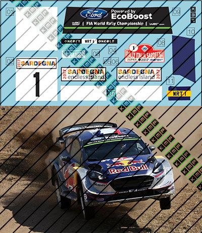 Fiesta WRC+ Ogier Sardegna 2017