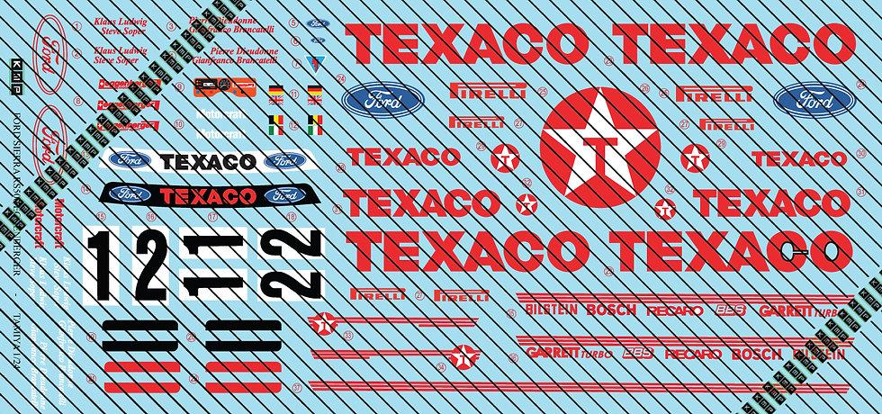 Sierra CosworthRS500 - Texaco