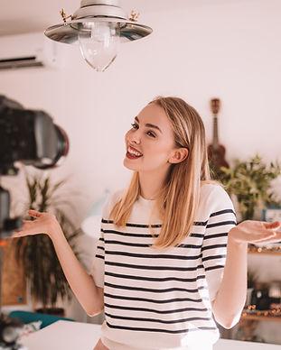 Vlogger Femme