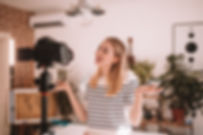 Vlogger femminile