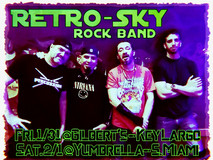 Retro-Sky Rock Band SUPER BOWL LIV weeke