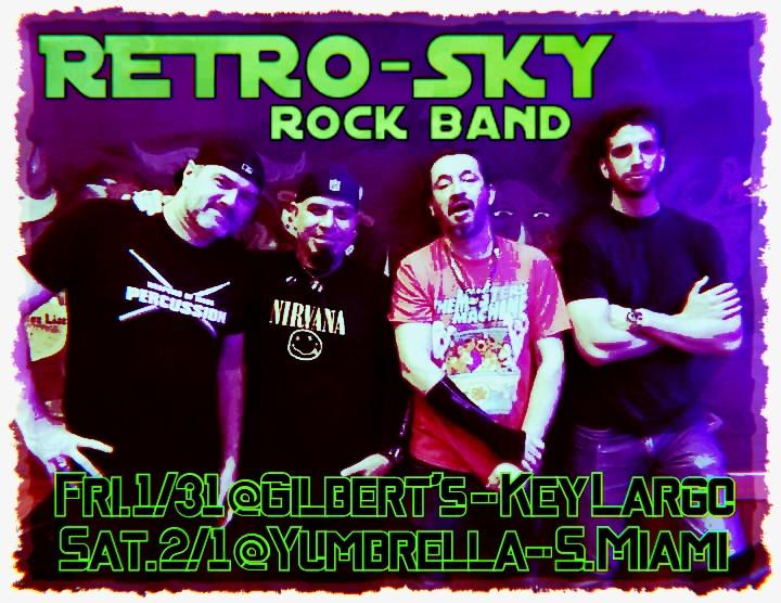 Retro-Sky Rock Band SUPER BOWL LIV weeke