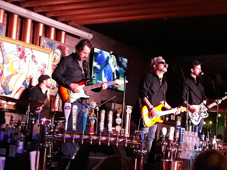 retroskyrockband live copper blues miami