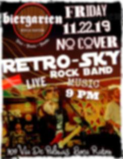 retro-sky rock band biergarten boca rato