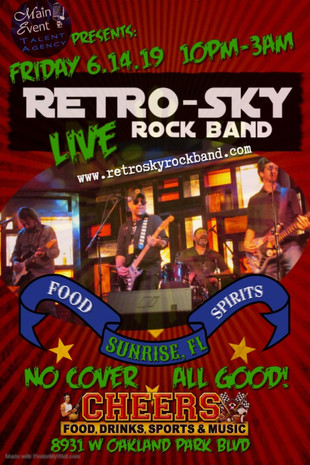 fly RETROSKY live CHEERS Sunrise FRiday
