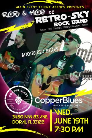 retrosky copper blues miami acoustic duo