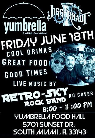 RETRO-SKY yumbrella Friday June 18th .jp