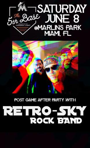 Retro-Sky Rock Band 5th Base Marlins Par