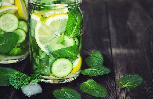 MEADOW CUCUMBER, MINT & GINGER CANDLE