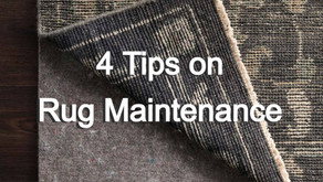4 Tips to properly maintain your rug