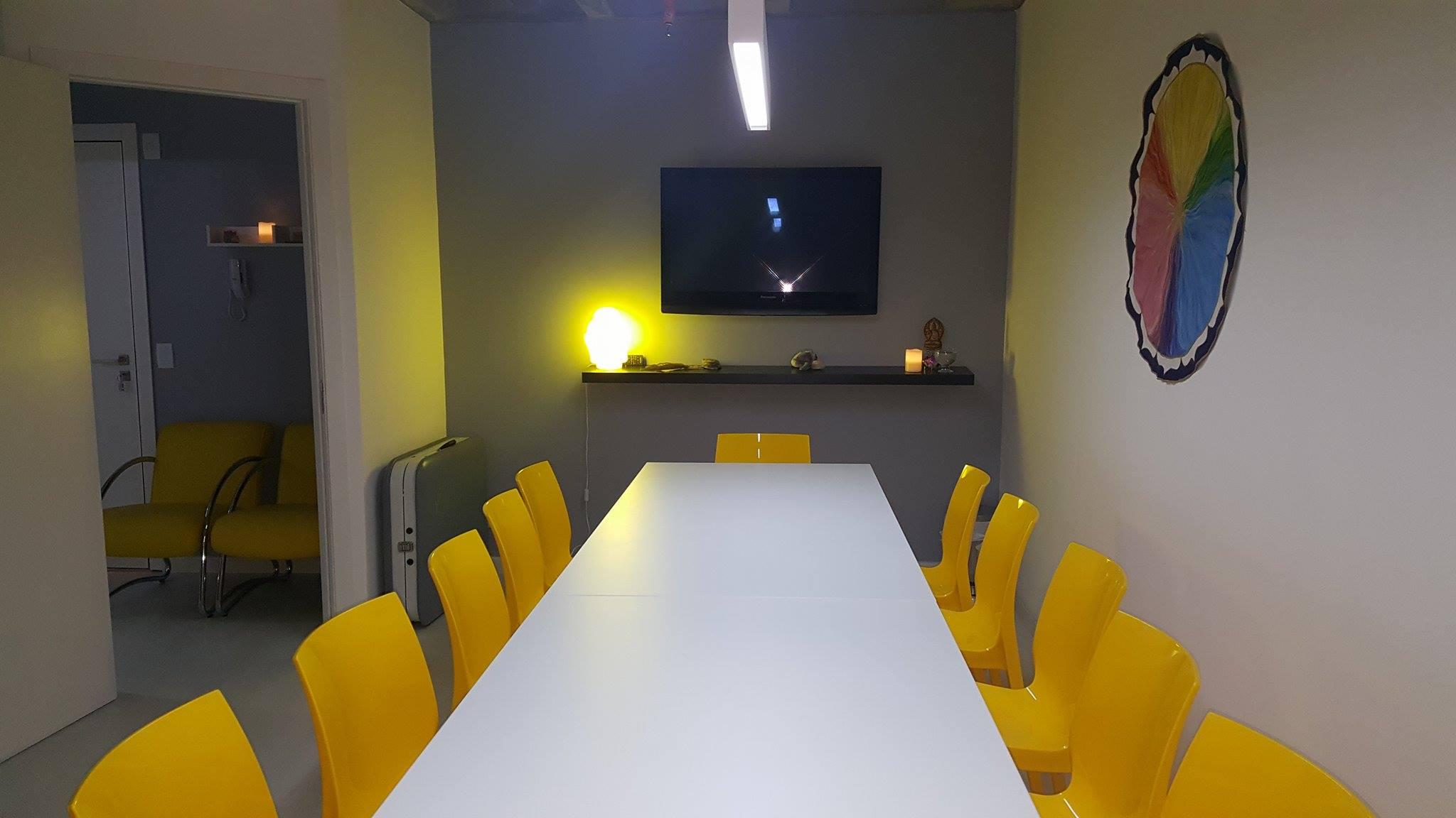 Sala de cursos e vivências