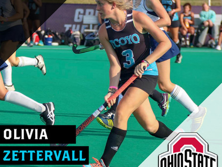 Olivia Zettervall Commits to Ohio State