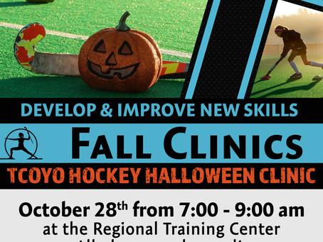 Fall Halloween Clinic