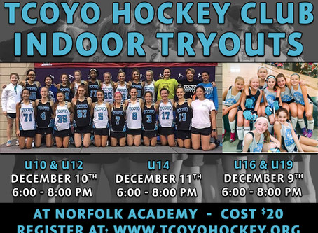TCOYO Indoor Tryouts