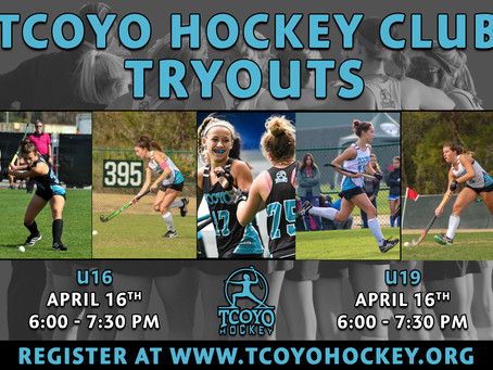 TCOYO Spring Tryouts