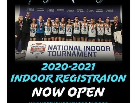 Indoor Registration Open