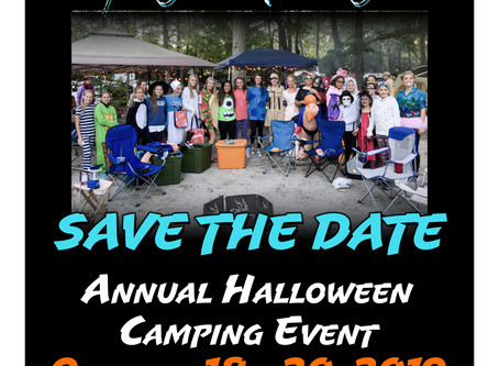Annual Halloween Camping Event