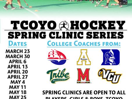 2018 Spring Clinics