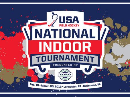 National Indoor Tournament Schedule