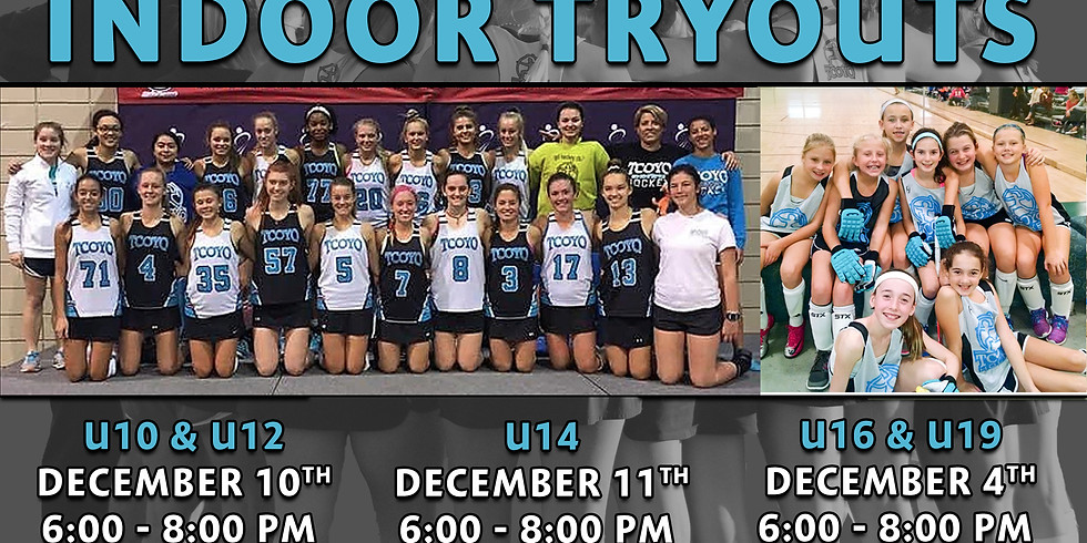 Indoor Tryout - U16 & U19