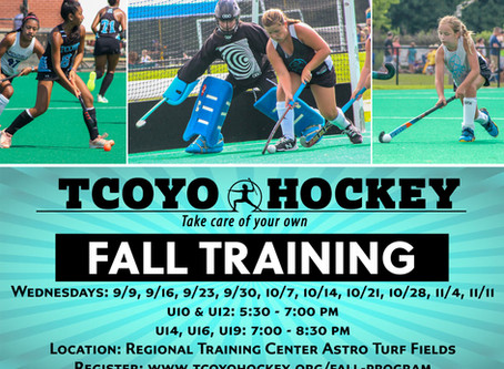 TCOYO Fall Training Program