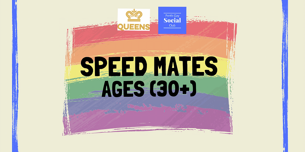 Speed Mates (Ages 30+)