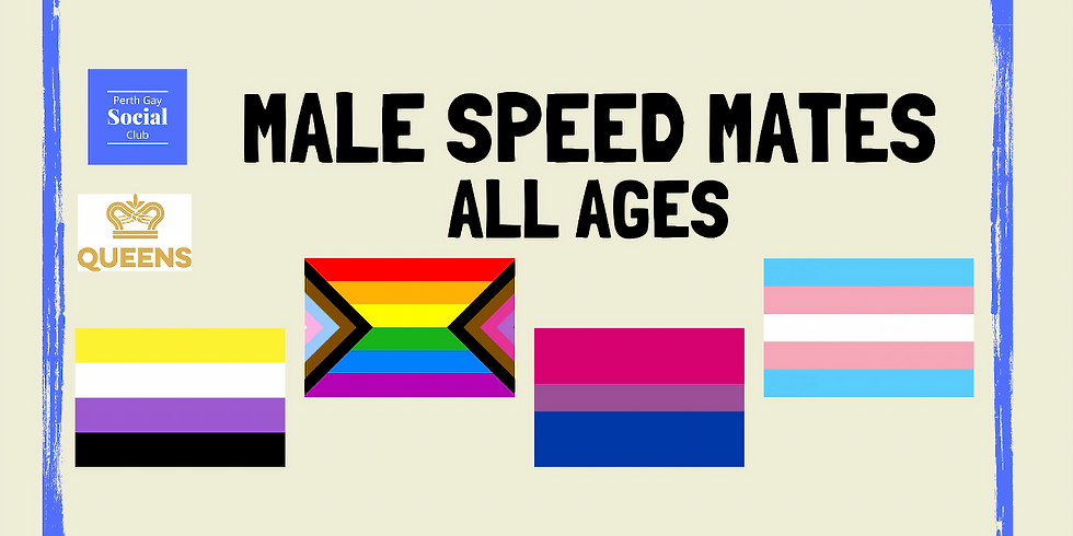 Men's Speed Mates (All Ages) May