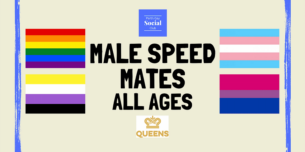 Men's Speed Mates (All Ages) August