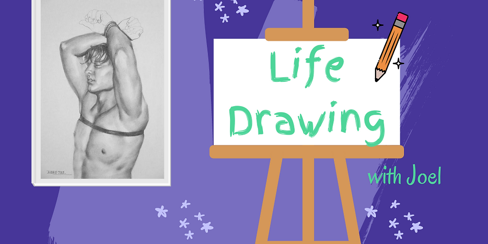 Life Drawing with Joel