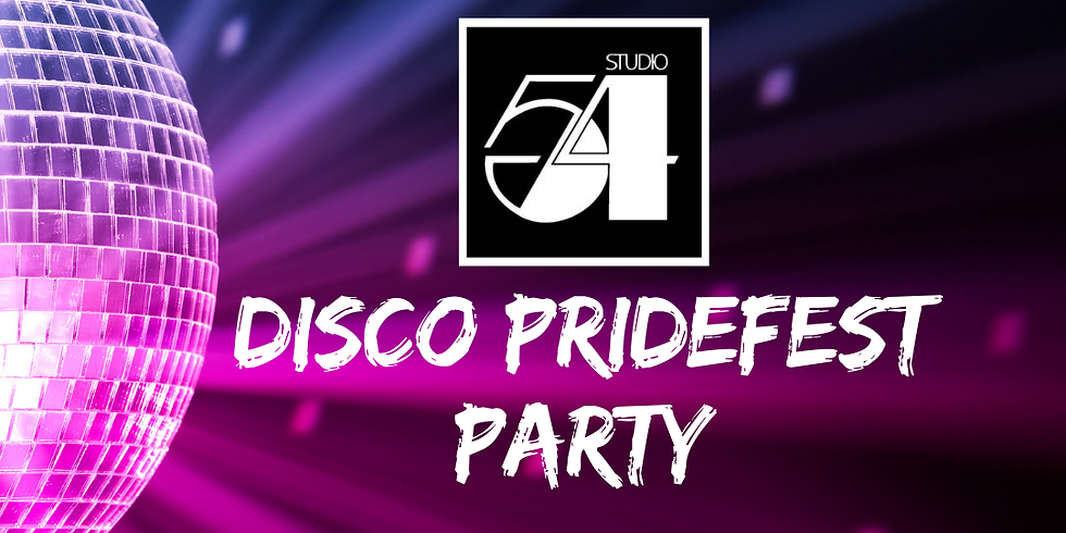 Studio 54 Disco Pride Party