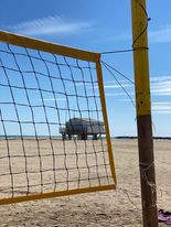 Le volley club de Gruissan à la plage