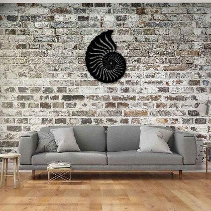 Ammonite - Metal Dekorasyon