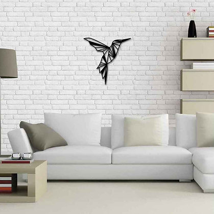 Humming Bird - Metal Dekorasyon