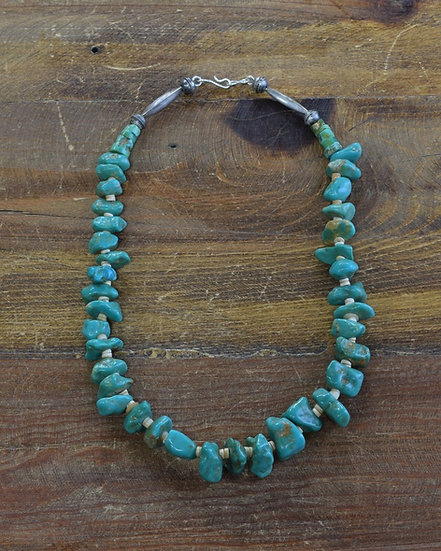 Vintage Beaded Turquoise Necklace