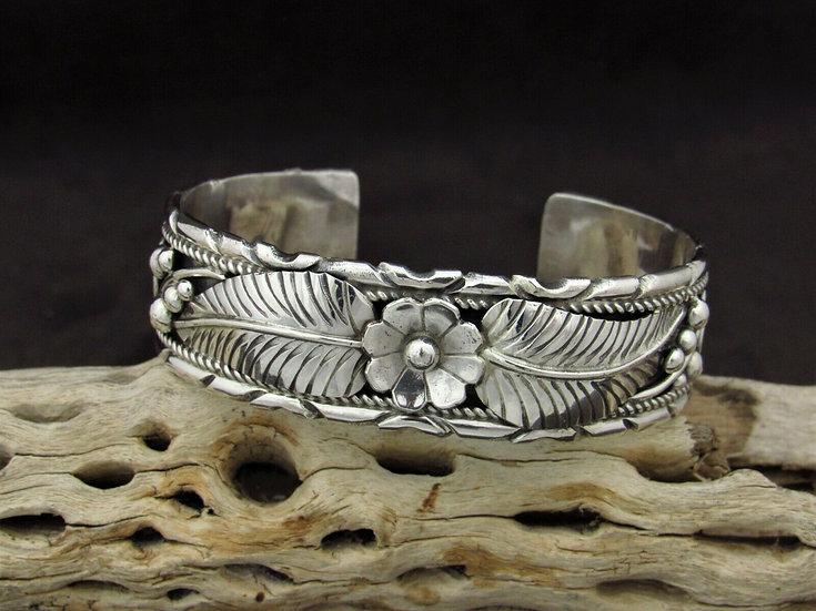 Southwestern Sterling Silver Cuff Bracelet