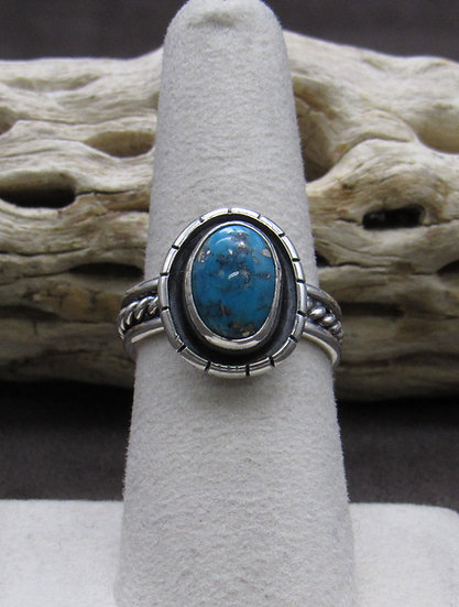 Charming Turquoise Ring Size 7 1/2