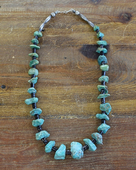 Vintage Navajo Turquoise Beaded Necklace