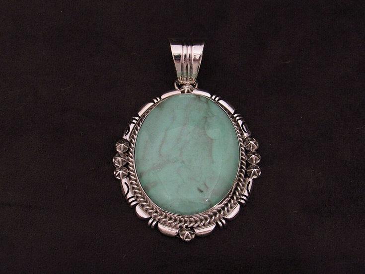 Sterling Silver Variscite Pendant