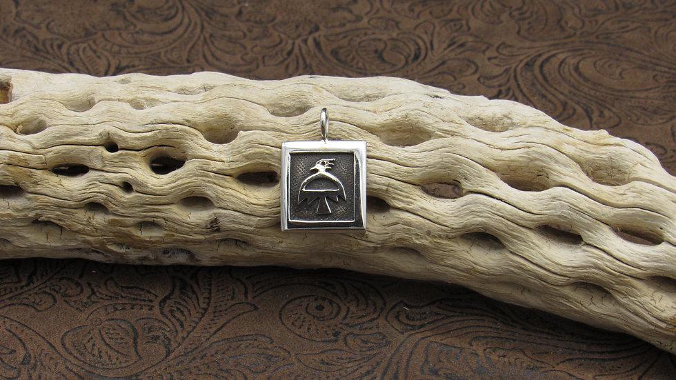 Sterling Silver Oxidized Silver Pendant