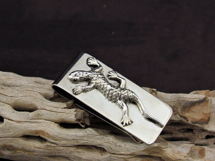 Southwestern Lizard Money Clip