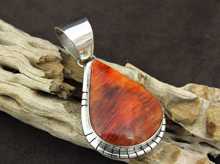 Spiny Oyster Sterling Silver Pendant