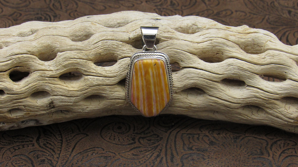 Spiny Oyster Pendant Sterling Silver