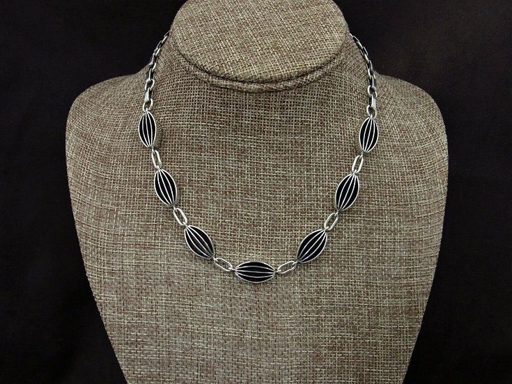 Navajo Sterling Silver Link Necklace